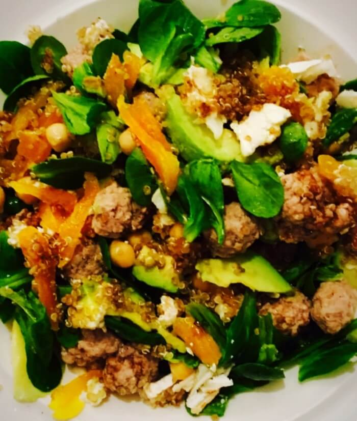 Salade hivernale