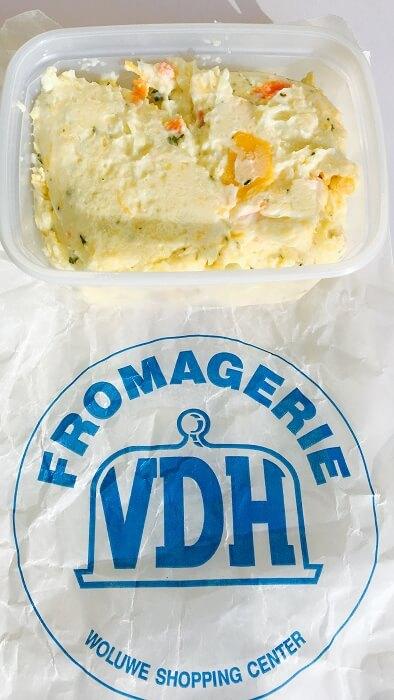 Mmmh… la salade de fromage de VDH