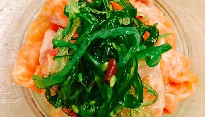 Verrine de saumon au parfum d'Asie