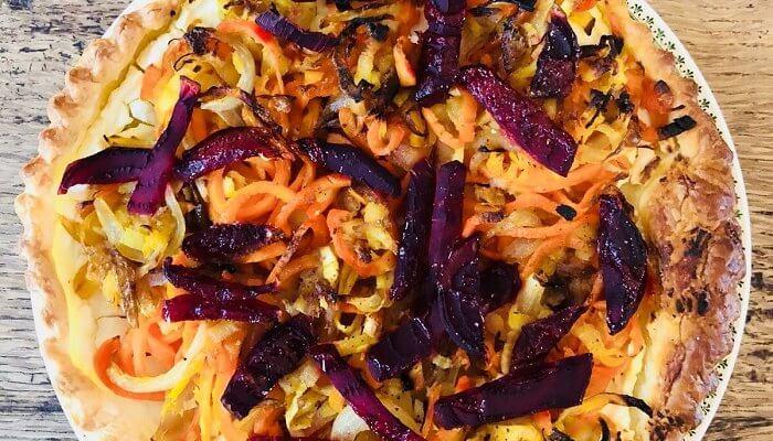 Croustillant aux légumes d'hiver