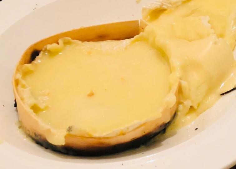 Camembert braisé au BBQ
