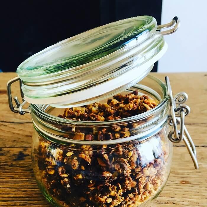 Granola noisettes, amandes & noix de cajou