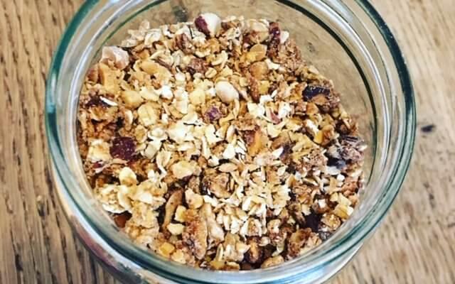 Granola à la cacahuète
